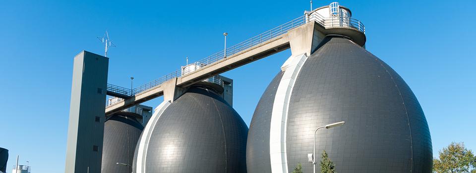municipal wastewater digester